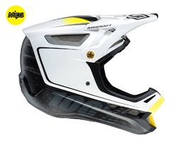 100% Casco Aircraft MIPS Bi Turbo Blanco 2017