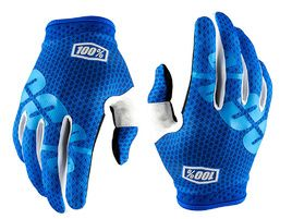 100% Guantes iTrack - Azul 2018