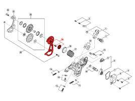 Shimano Caja Externa para Cambio Saint M820 - Caja corta