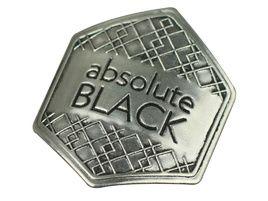 Absolute Black Pegatina metalica 2018