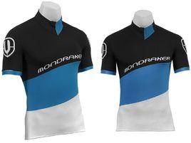 Mondraker Maillot XC Negro y Azul