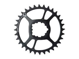Sram Plato X-Sync 2 Acero Direct Mount 11v 6 mm Negro