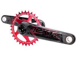 Race Face Conjunto de pedalier Next R Rojo 2019