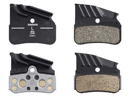 Shimano Pastillas de freno para XTR M9120, XT M8120, SLX M7120