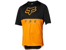 Fox Maillot Mangas Cortas Defend Moth Atomic Naranja 2019