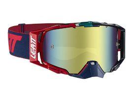 Leatt Gafas Velocity 6.5 Iriz - Azul/Rojo - Lente Bronce 2019