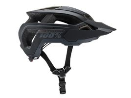 100% Casco Altec Essential Negro 2020