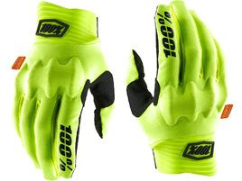 100% Guantes Cognito D3O Fluo Yellow/Black 2020
