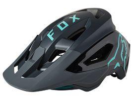 Fox Casco Speedframe Pro Negro y Teal 2021