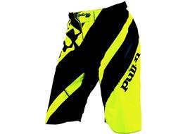 Pull-In Pantalon Corto DH Stripes Amarillo Fluo 2016