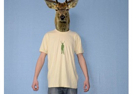 Pure Gear Camiseta Cerf'Your'Style Crema