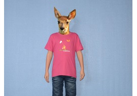 Pure Gear Camiseta Niño Chasse au Papillon Rosa