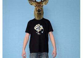 Pure Gear Camiseta Chik le Vers Negro