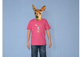 Pure Gear Camiseta Niño Décroche la Lune Rosa