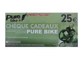 Purebike Cheque regalo 25 €