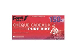 Purebike Cheque regalo 150 €