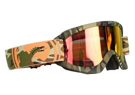 Dragon Gafas MDX Rockstar Camo lente Rojo Ionizado + lente transparente