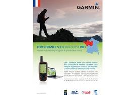 Garmin Mapa Topo Pro V3 Francía Noroeste 2015