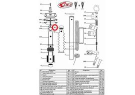 Ice Corcho de tubo superior para Lift V8
