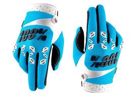 100% Guantes Airmatic Azul 2017