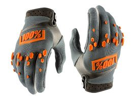 100% Guantes Airmatic - Gris 2018
