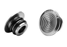 Absolute Black Tapones de manillar en aluminio 2018