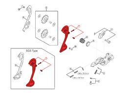Shimano Caja Externa para Cambio XT M780