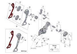 Shimano Caja interna para cambio XT M8000