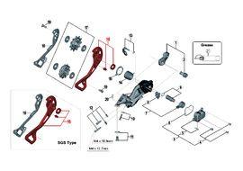 Shimano Caja Externa para Cambio XTR M9000