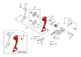 Shimano Caja Externa para Cambio XTR M980