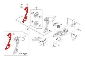 Shimano Caja Interna para Cambio XTR M980 / M986