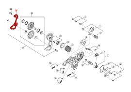 Shimano Caja Interna para Cambio Saint M810 / M820 / Zee M640 - Caja corta