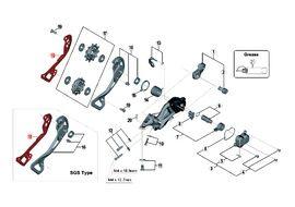 Shimano Caja interna para cambio XTR M9000