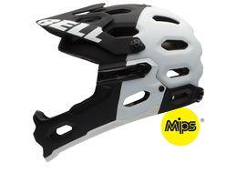 Bell Casco Super 2R MIPS Mate Negro / Blanco Tallas S