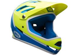Bell Casco Sanction Azul / Amarillo Fluo 2018