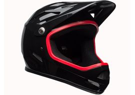 Bell Casco Sanction Negro / Rojo 2018