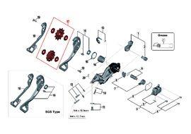 Shimano Rulinas para cambio 11 velocidades XTR M9000