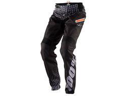 100% Pantalón R-Core Supra Negro y Gris 2018