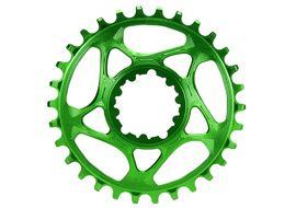 Absolute Black Plato Narrow Wide Direct Mount Sram GXP Verde 2020