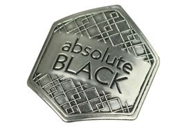 Absolute Black Pegatina metalica 2020