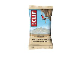 Clif Bar Barrita energetica sabor chocolate blanco y macadamia
