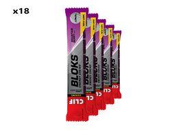 Clif Bar Caja de 18 x 6 Bloks energeticos sabor moras ácidas y dulces