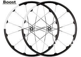 "Crank Brothers Pareja de ruedas Cobalt 3 Boost 27,5"" negro / blanco 2018"