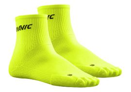 Mavic Calcetines Cosmic Medio Amarillo Fluo 2018