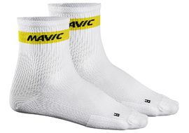 Mavic Calcetines Cosmic Medio Blanco 2018