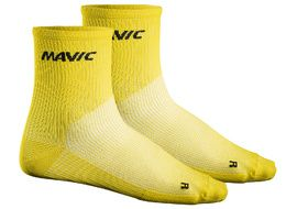 Mavic Calcetines Cosmic Medio Amarillo 2018