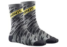 Mavic Calcetines Altos Deemax Pro Gris 2018