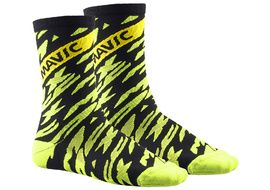 Mavic Calcetines Altos Deemax Pro Amarillo Fluo 2018