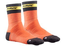 Mavic Calcetines Ksyrium Elite Thermo Naranja 2018