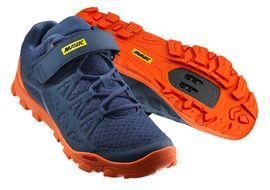 Mavic Zapatillas Crossride Azul y Naranja 2018